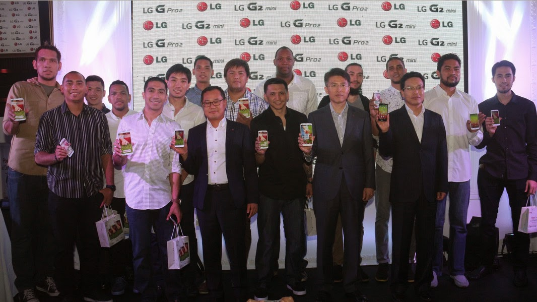 LG G Pro 2 Philippines Launch, Gilas Pilipinas