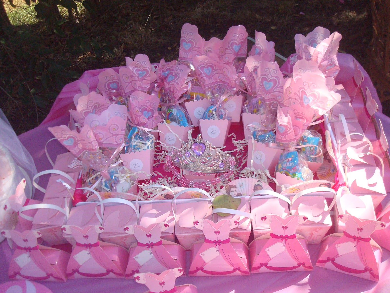 themes co shower favors baby tactac pinterest ballerina girl party