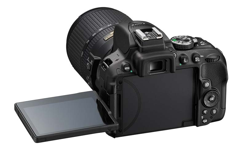 Nikon D5300 sa zadnje strane