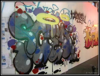 Graffiti Rue du Temple Paris