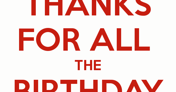 Best thank you reply for birthday wishes thank you m4hsunfo Images