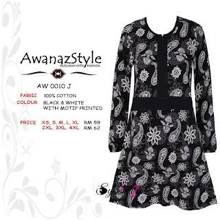 T-Shirt-Muslimah-Awanazstyle-AW0010J