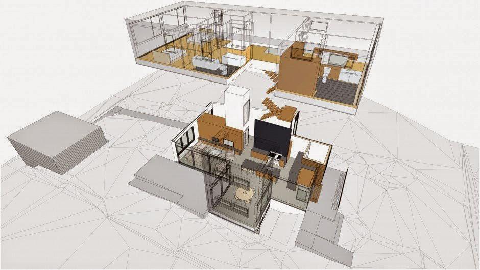 Desain Rumah Minimalis 2 Lantai Type 36/72