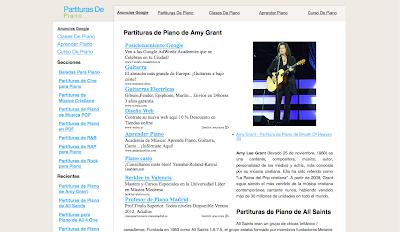 Directorio musical para agregar tu sitio web. Partituras, artistas, educación musical, bandas, charangas... Directoriopax
