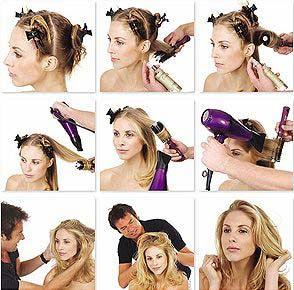 Как сделать укладку волос дома - Салон красоты онлайн
