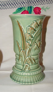 Redwing Lily of the valley vase