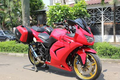 Ninja 250 modifikasi touring