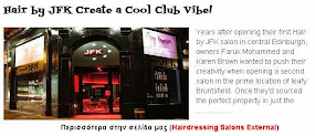 Hair by JFK Create a Cool Club Vibe!