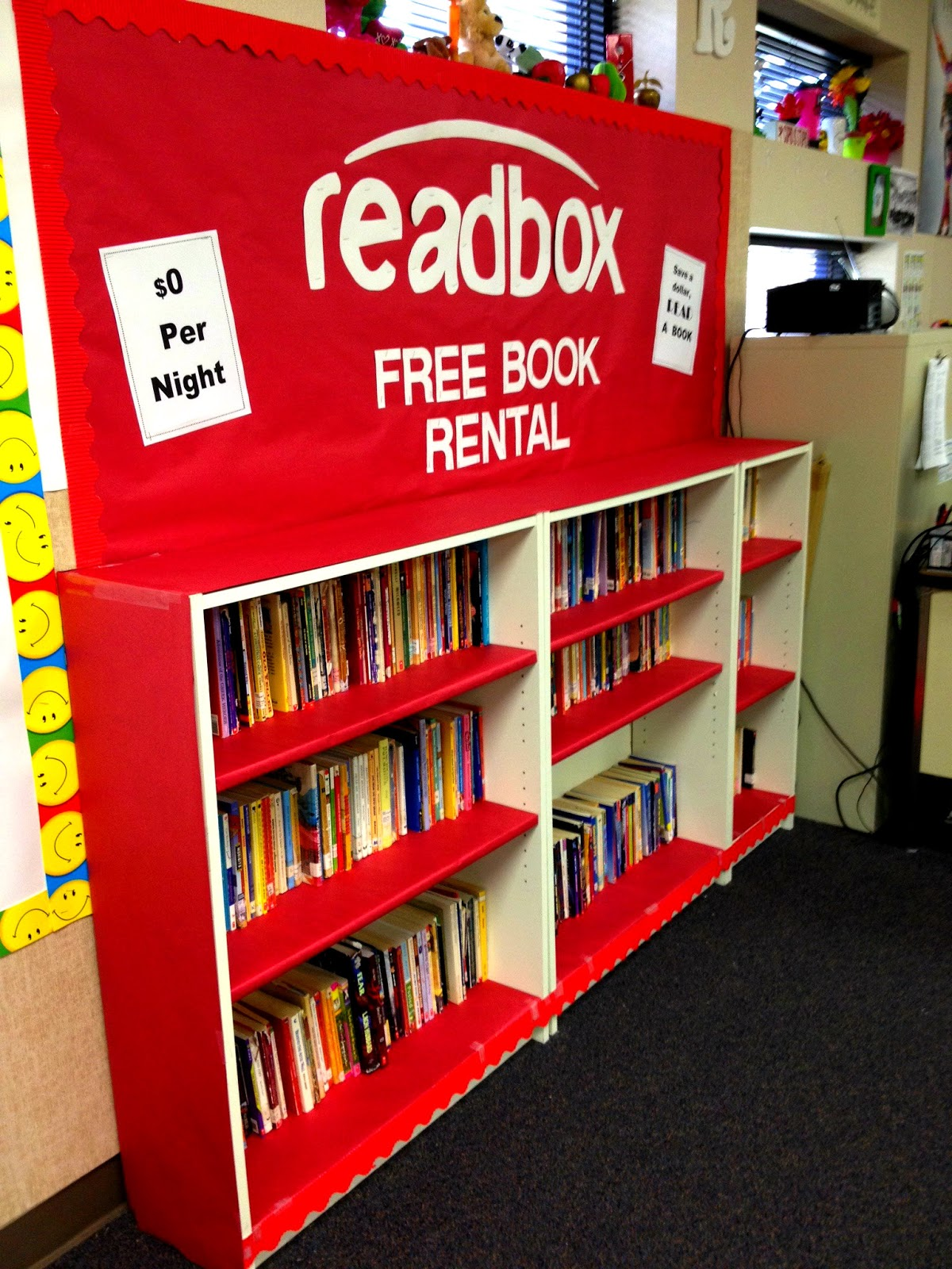 Classroom Library Ideas ~ Marci coombs bulletin board ideas