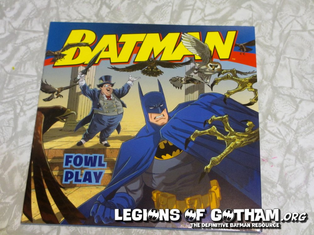 Legions of Gotham Toys Legions of Gotham Was Given an
