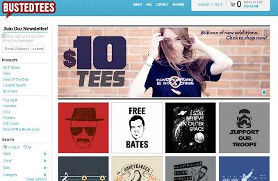 sitios web creativos de camisetas