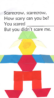 Scarecrow Math & Follow Directions - Learn your Shapes