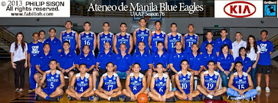 uaap board approved ateneo de manila university blue eagles lineup for