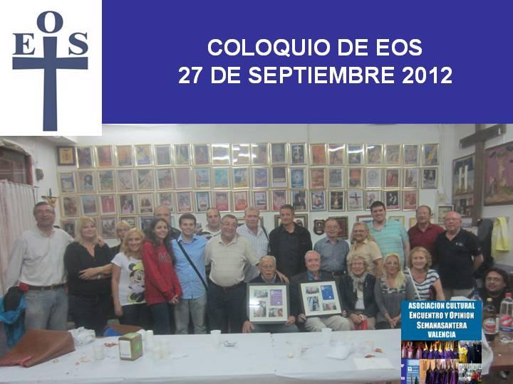 Coloquio Fiestas del Perdón 2012