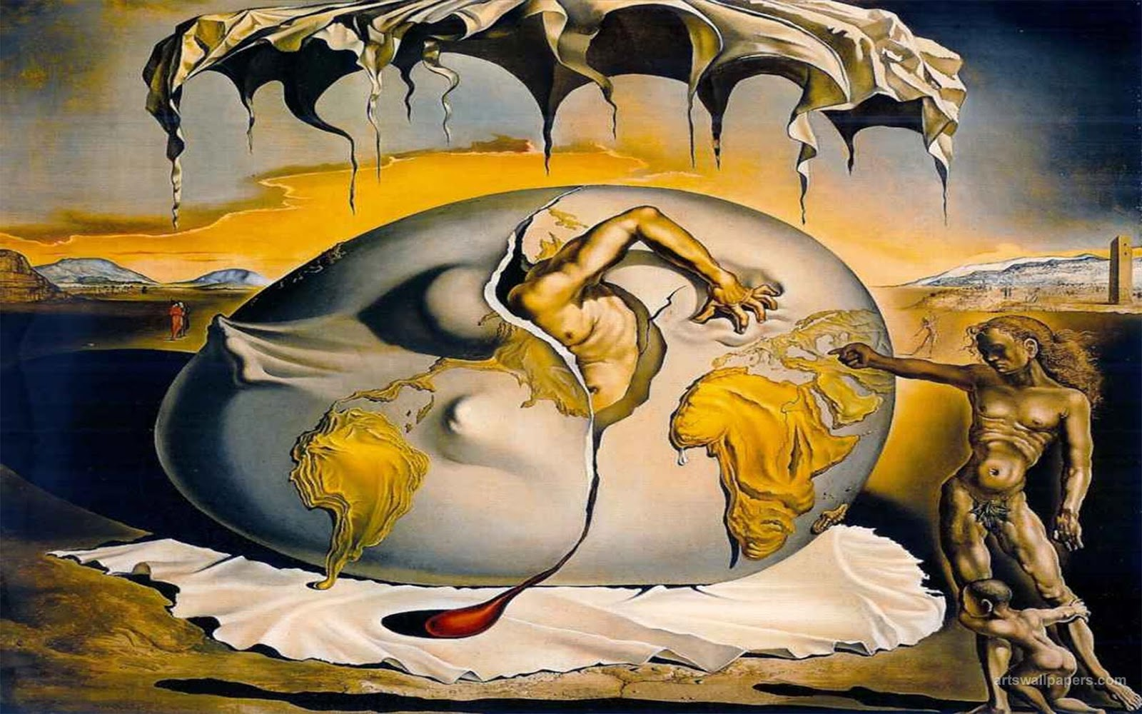 Hipalien art melts my heart for All of salvador dali paintings