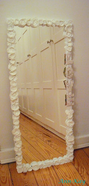 DIY: Easy Mirror Makeover by Ann-Kay Home