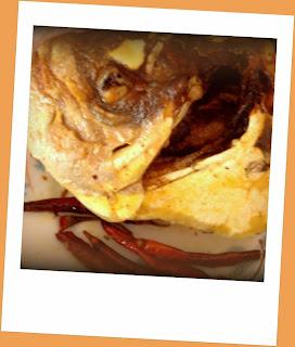 Fish head fry, Macher muro bhaja