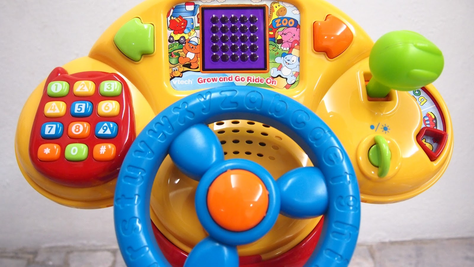 vtech grow and go ride on instructions