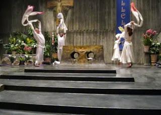 liturgical prance