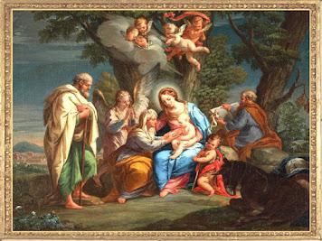 VIRGEN MARÍA, SAN JOSÉ Y EL NIÑO DIOS