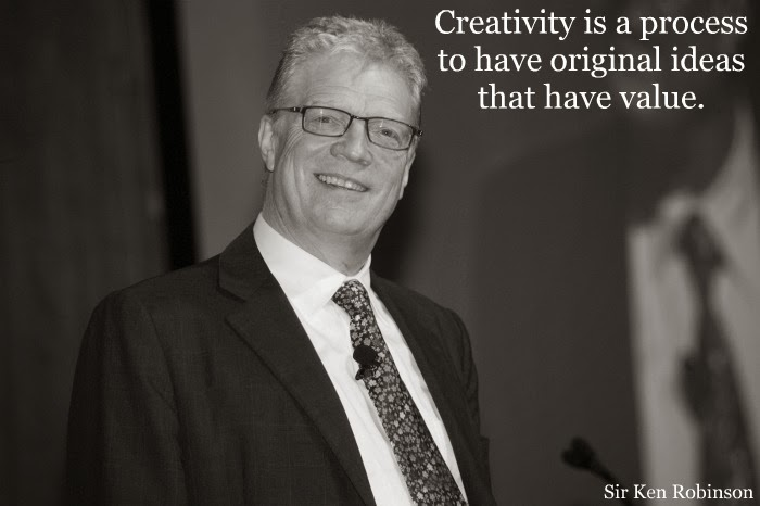 """Creativity is a process to have original ideas that have value."""