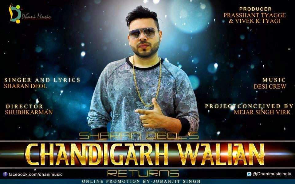 chandigarh walian returns mp3, lyrics & hD video download  sharan deol
