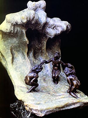 As Banhistas, Camille Claudel.