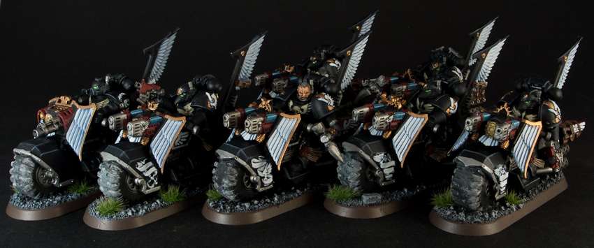 how to use ravenwing black knights