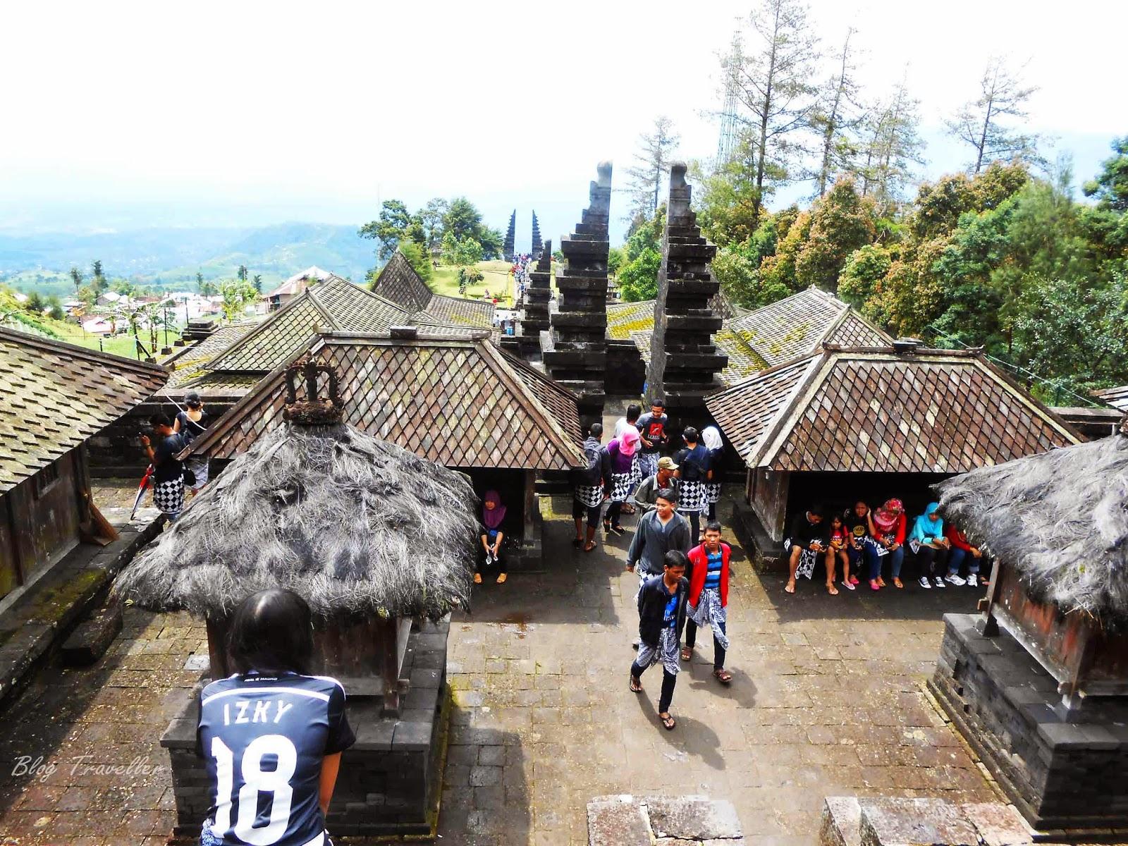 View dari Puncak Candi Cetho