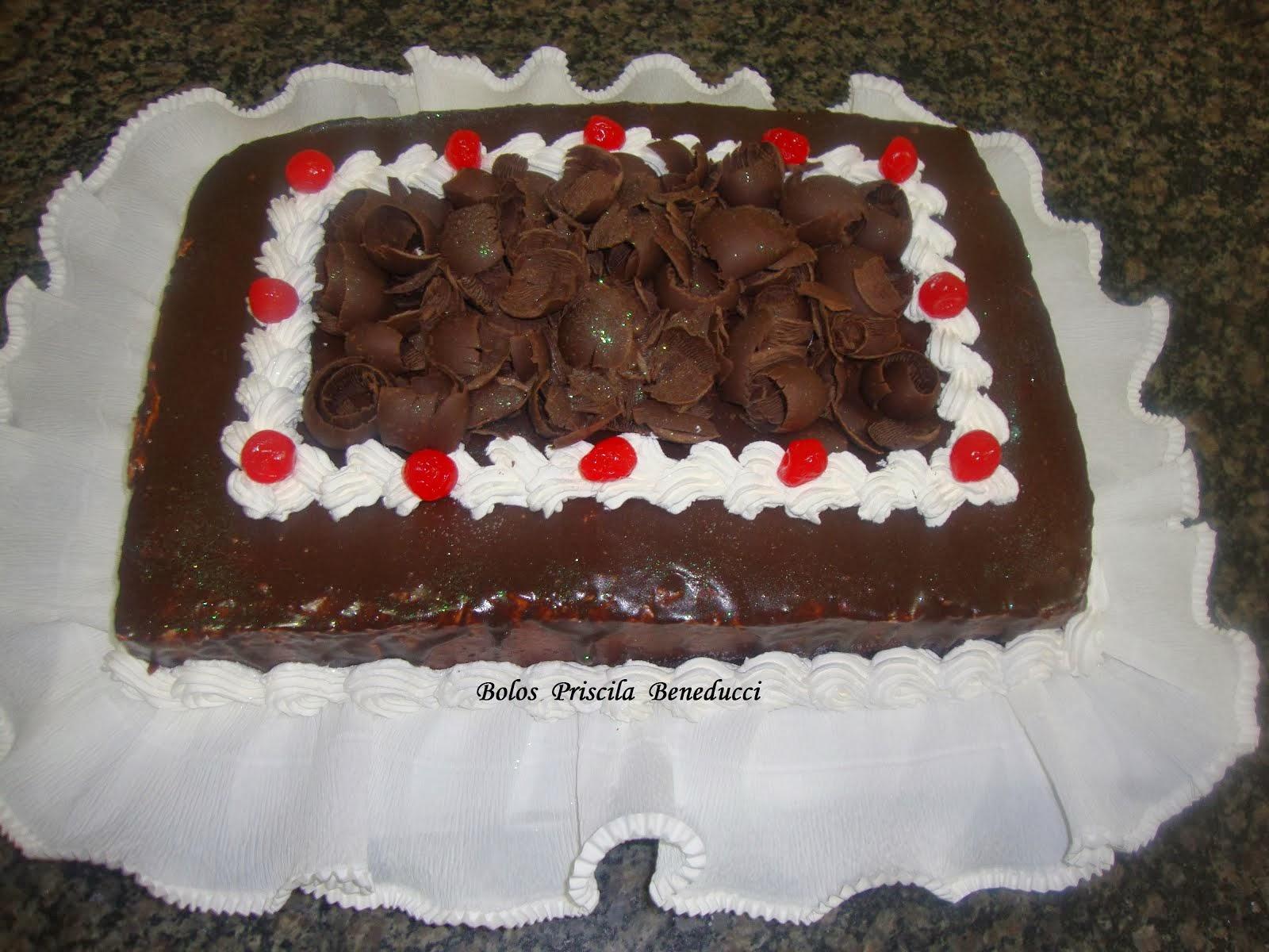 Torta Bolo Chocolate
