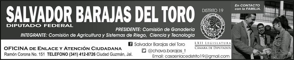 DIP. SALVADOR BARAJAS DEL TORO