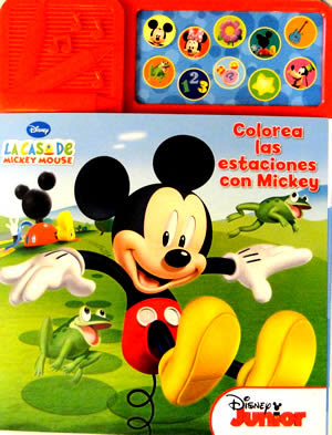 Colorea las Estaciones con Mickey