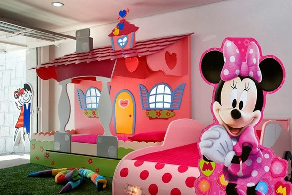 Dormitorio Temático Minnie Mouse