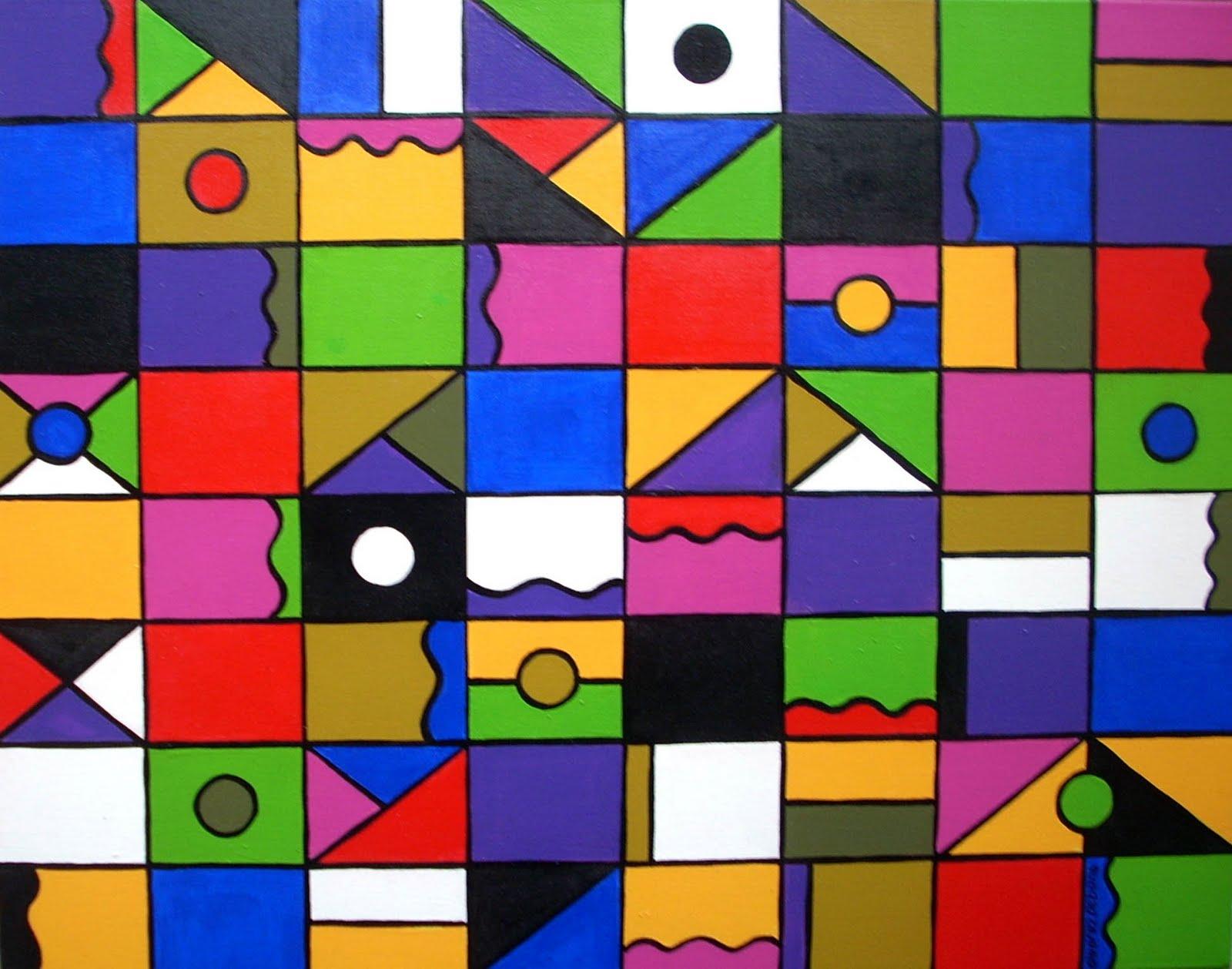 Cosicas y m s geom tria en el arte for Cuadros con formas geometricas