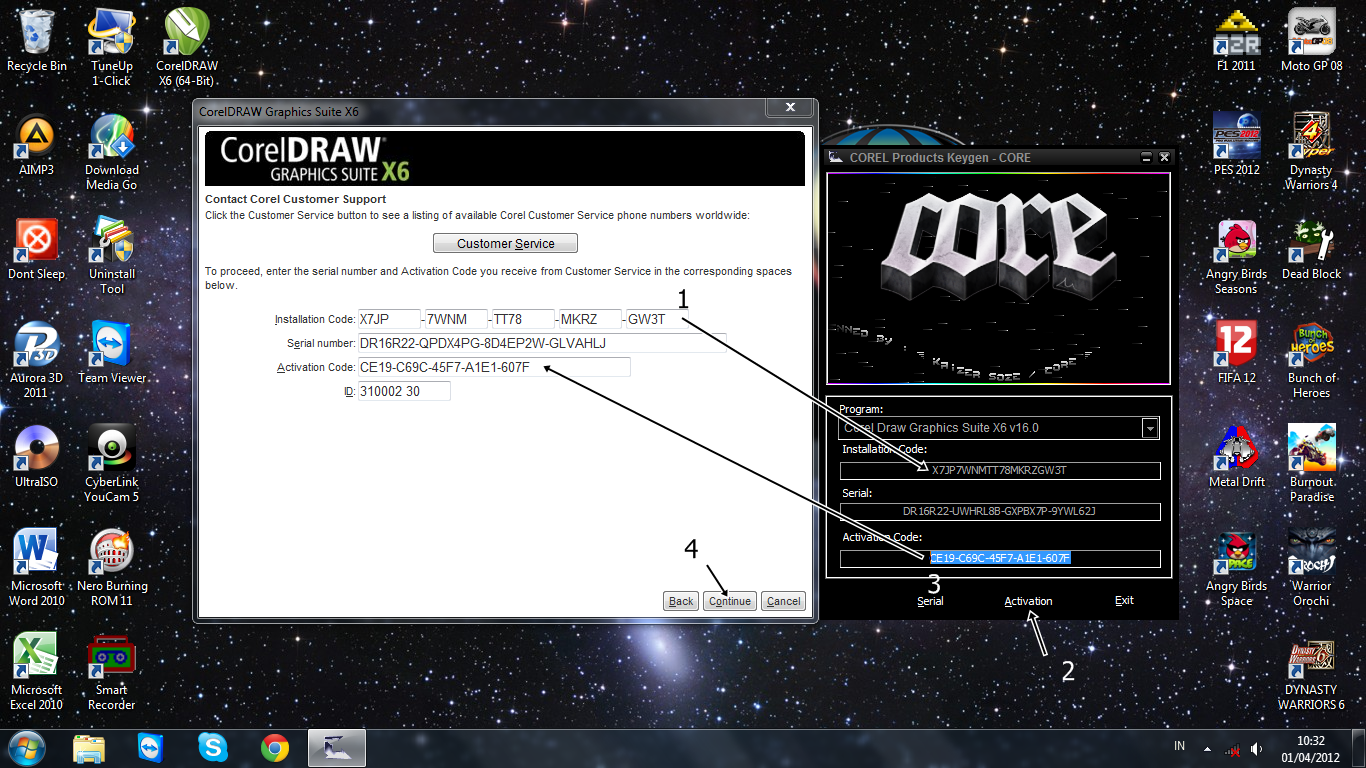 corel draw crack x6 download