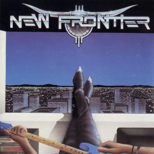 hard rock generation: NEW FRONTIER - NEW FRONTIER (1988)