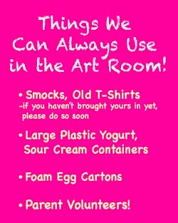 Art Room Notes