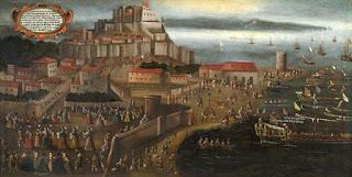 Expulsión de los moriscos en el puerto de Denia.