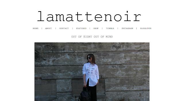 la matte noir lamattenoir blog style inspiration instagram social media famous