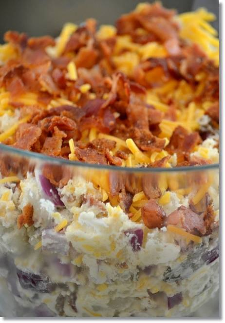 Fully Loaded Baked Potato Salad Recipe of today Recipe of today