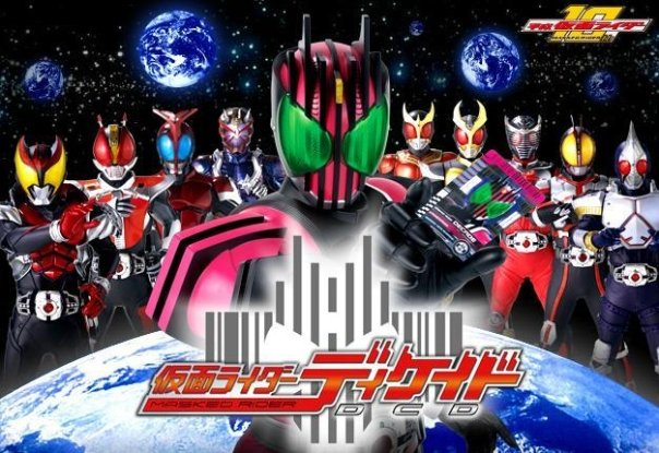 Masked Riders Decade