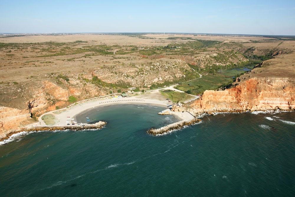 красив залив в България