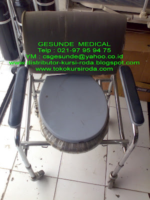jual kursi toilet commode chair bekas