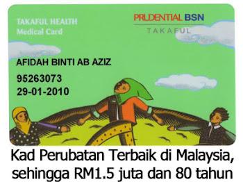 Kad Perubatan sehingga RM1.5 juta dan 80 tahun!