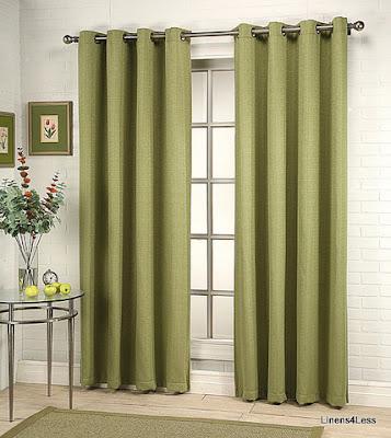 Grommet top curtains