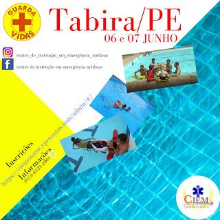 Curso em Salvamento Aquático Para Guarda-Vida Em Piscina 06 e 07 de Junho Em Tabira-PE