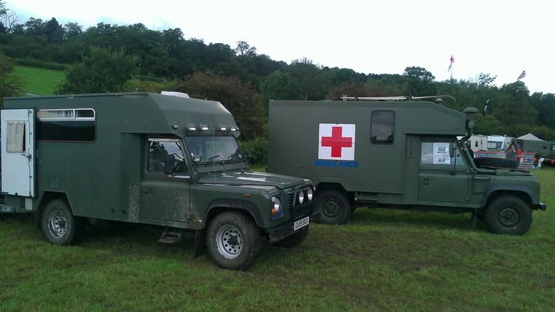 Land Rover Katy Ambulances