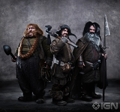 Next Photo of Dwarves Hits the Web: Bombur, Bofur, and Bifur