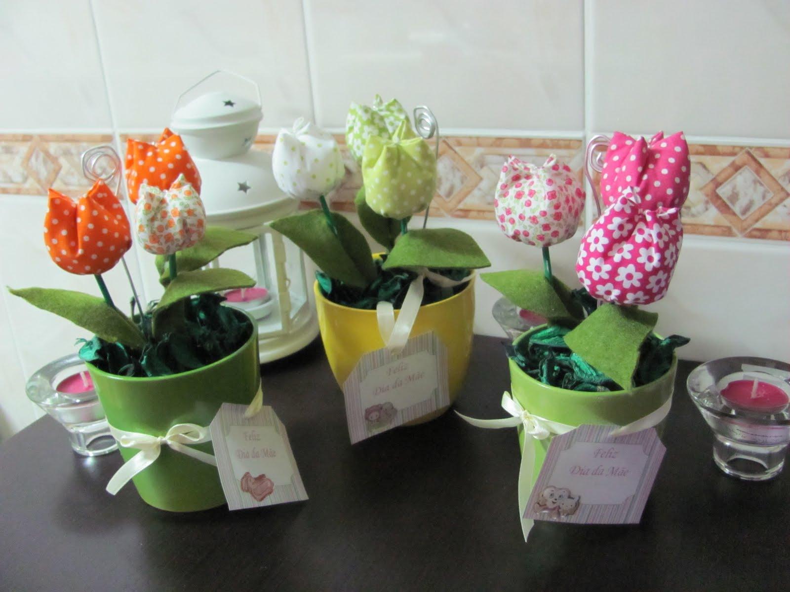 Ideias da manina vasos de tulipas em tecido pout pourri - Porta pout pourri ...