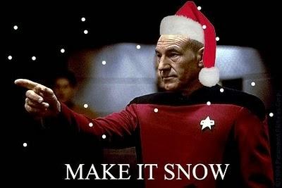 Mary Ann Bernal: Star Trek christmas song Make It So